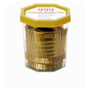 999 Gold Bobby Pins 2 250g