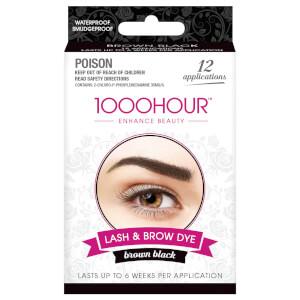 1000 Hour Eyelash & Brow Dye Kit - Brown Black