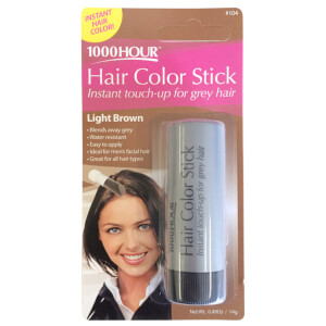 1000 Hour Hair Colour Stick - Light Brown #104