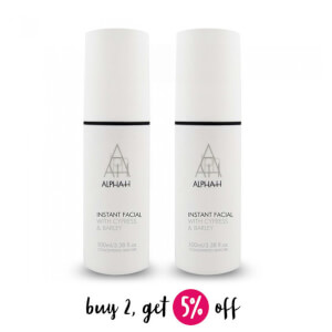 Buy 2 Alpha-H Instant Facial 100ml And Save