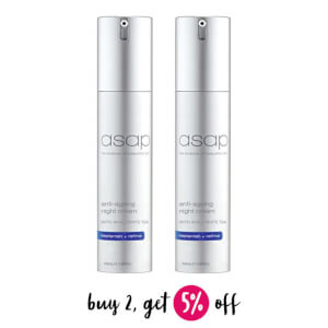 Buy 2 asap Anti-Ageing Night Cream 50ml And Save
