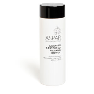 Aspar Lavender & Patchouli Relaxing Body Oil