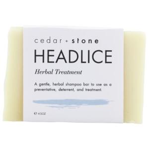 Cedar + Stone Headlice Shampoo Bar 140g