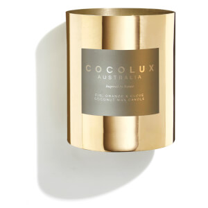 Cocolux Australia Brass Candle Fig Orange & Clove 350g