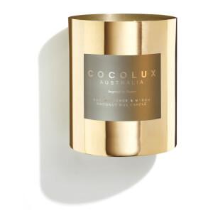 Cocolux Australia Brass Candle Frankincense & Myrrh 350g