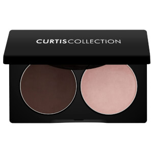 Curtis Collection by Victoria Brow Powder Duo - Dark Brown And Silk 4.54g