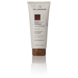 De Lorenzo Novafusion Intense Colour Care Shampoo - Brown