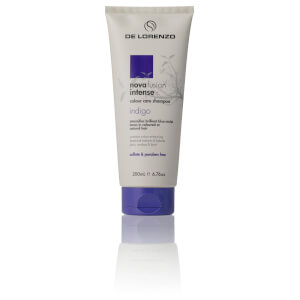 De Lorenzo Novafusion Intense Colour Care Shampoo - Indigo 200ml