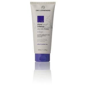 De Lorenzo Novafusion Intense Colour Care Shampoo - Indigo 200ml