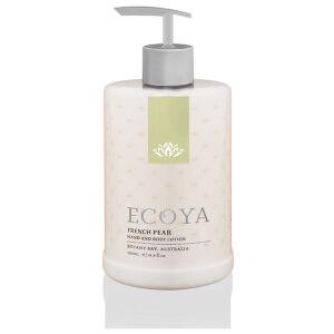 ECOYA French Pear Hand & Body Lotion 450ml