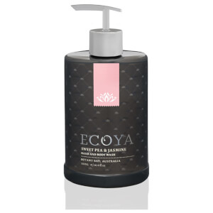 ECOYA Sweet Pea & Jasmine Hand & Body Wash 450ml