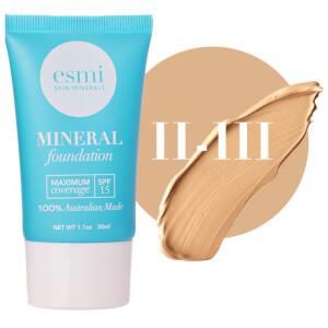 esmi Skin Minerals Mineral Foundation SPF15 II-III 30ml