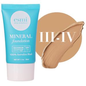 esmi Skin Minerals Mineral Foundation SPF15 III-IV (30ml)