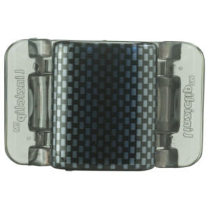 Linziclip Midi Claw Clip - Black And Grey Check