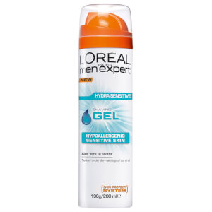 L'Oréal Paris Men Expert Hydra Sensitive Shaving Gel 200ml