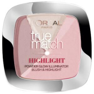 L'Oréal Paris True Match Highlight Powder Glow Illuminator #202N Neutre Rose/Rosy Glow 9g
