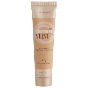 Maybelline Dream Velvet Soft-Matte Hydrating Foundation #50 Creamy Natural 30ml