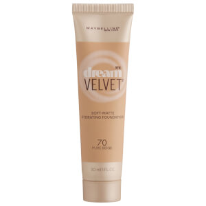 Maybelline Dream Velvet Soft-Matte Hydrating Foundation #70 Pure Beige 30ml