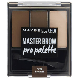 Maybelline Master Brow Pro Palette - Deep Brown 3.4g