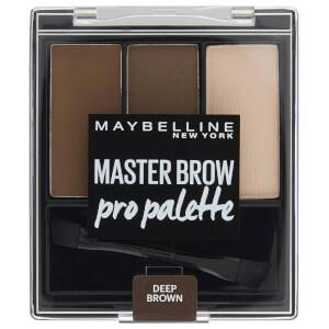 Maybelline Master Brow Pro Palette - Deep Brown 3.4g