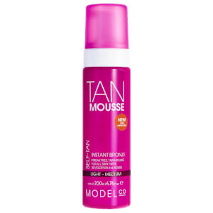 ModelCo Tan Mousse Light - Medium 200ml