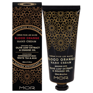 Creme de Mãos Emporium Classics Blood Orange da MOR 100 ml
