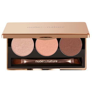 nude by nature Natural Illusion Eye Shadow Trio #03 Rose 3 x 2g