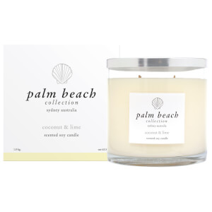 Palm Beach Collection Deluxe Candle Coconut And Lime 1.8Kg