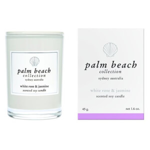 Palm Beach Collection Mini Candle White Rose And Jasmine 45g