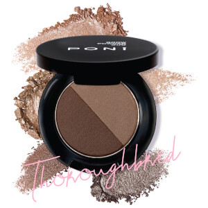 PONi Cosmetics Duo Brow Powder - Thoroughbred