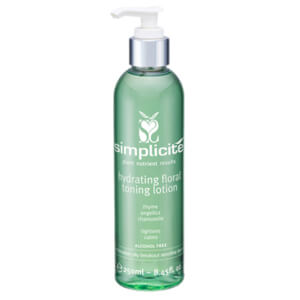 Simplicite Flower Water Toning Lotion Comb/Oily 250ml