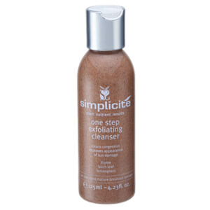 Simplicite One Step Exfoliating Cleanser 125ml