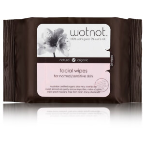 wotnot Facial Wipes Normal/Sensitive Skin x 25