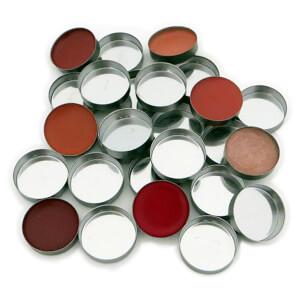 Z palette Mini Metal Round Metal Pans - 20 Pack