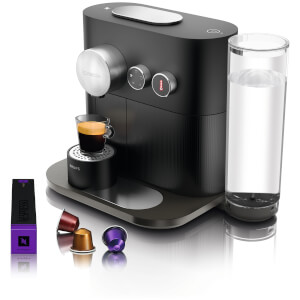 Nespresso by KRUPS XN601840 Expert & Milk Coffee Machine - Matte Black