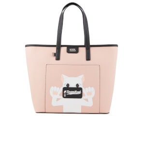 Karl Lagerfeld The Photographer Team Karl Shopper Bag - Pink