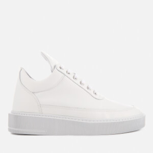 Filling Pieces Women's Dress Cup Low Top Trainers - All White