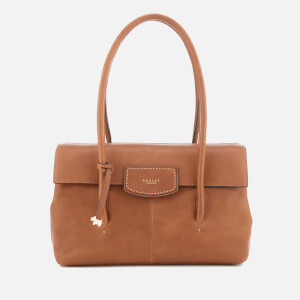 Radley Women's Burnham Beecheslarge Flapover Shoulder Bag - Cognac