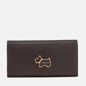 Radley Women's Heritage Dog Foldover Matinee Purse - Cocoa
