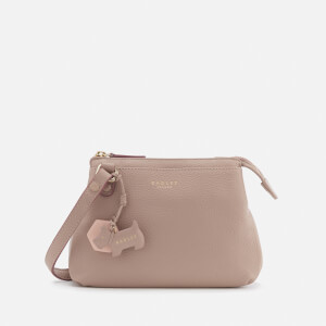 Radley Women's Phoenix Gardens Small Ziptop Cross Body Bag - Dusty Rose