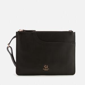 Radley Women's Pockets Medium Compartment Cross Body Bag - Black/Rose