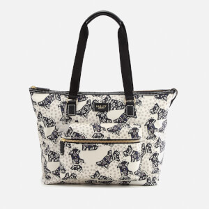Radley Women's Folk Dog Large Tote Bag - Chalk