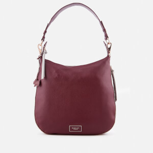 Radley Women's Large Ziptop Hobo Bag - Port/Rose