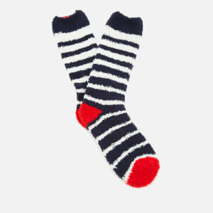 Joules Women's Fabulously Fluffy Supersoft Socks - French Navy
