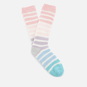 Joules Women's Fabulously Fluffy Supersoft Socks - Cream