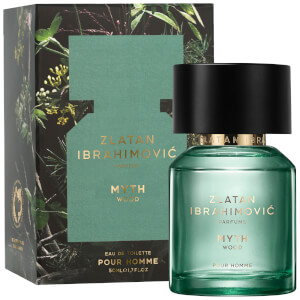 Zlatan Ibrahimovic Parfums Myth Wood Homme Eau de Toilette 50ml