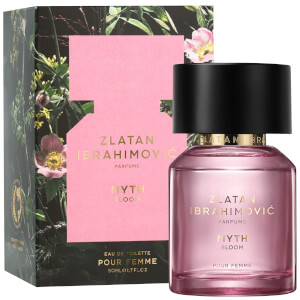 Zlatan Ibrahimovic Parfums Myth Bloom Femme Eau de Toilette 50ml