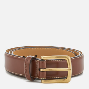 Ben Sherman Men's Leather Vauxhall Belt - Tan/Beige