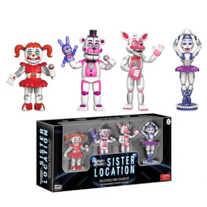 Lots de 4 Figurines Funko - 2 pouce - Five Night At Freddy's