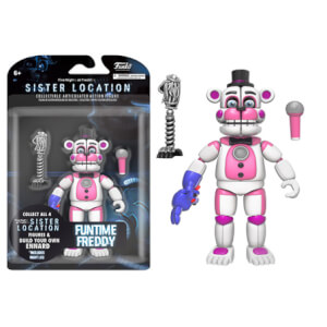 Figurine Articulée Funko Fun Time Freddy Five Nights at Freddy's -13 cm